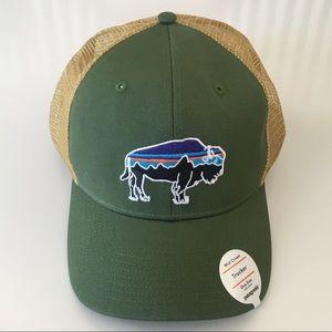 Patagonia NWT Fitz Roy Bison trucker hat